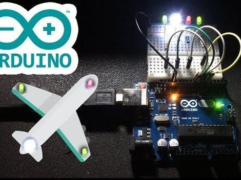 Quadcopter LED Blink
