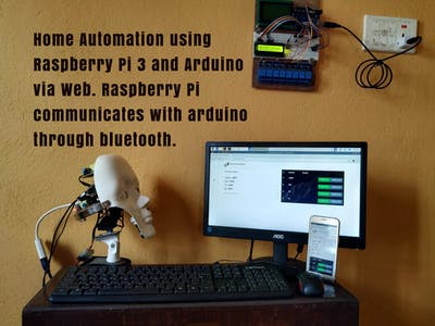 Smart Home Automation Using Raspberry Pi and Arduino via Web