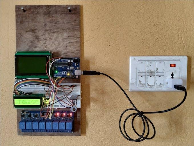 Smart Home Automation Using Raspberry Pi and Arduino via Web