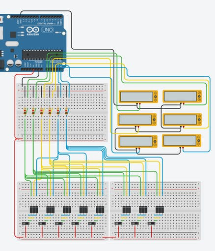 123D Circuits hardware simulation