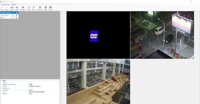 No feed on EODbot Camera