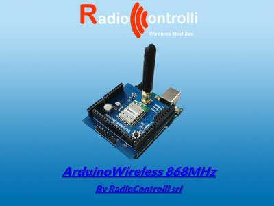 ArduinoWireless 868MHz
