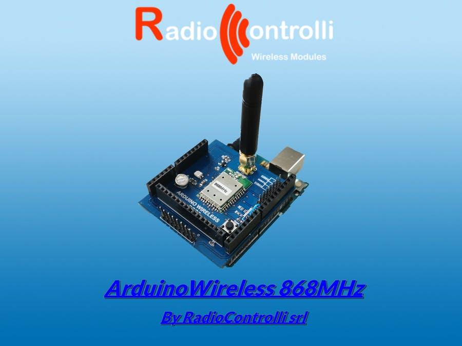 ArduinoWireless 868MHz