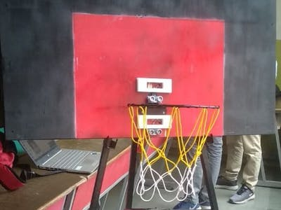 Basketball Counting Machine