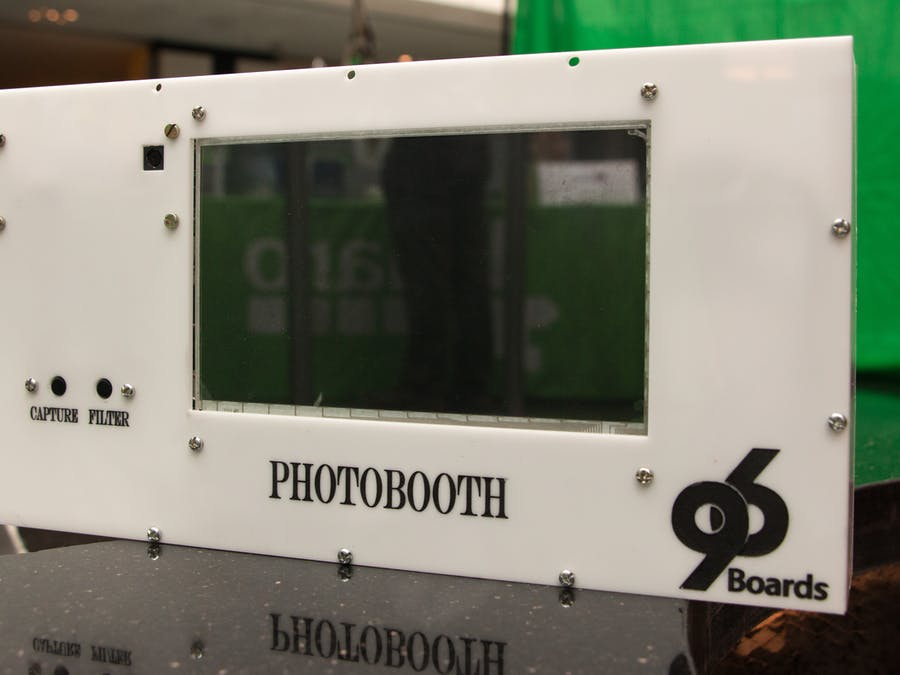 Photobooth Using 96Boards