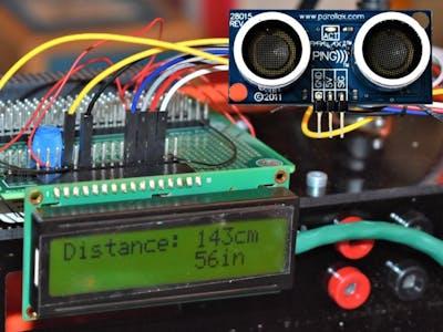 Interface an Ultrasonic Sensor
