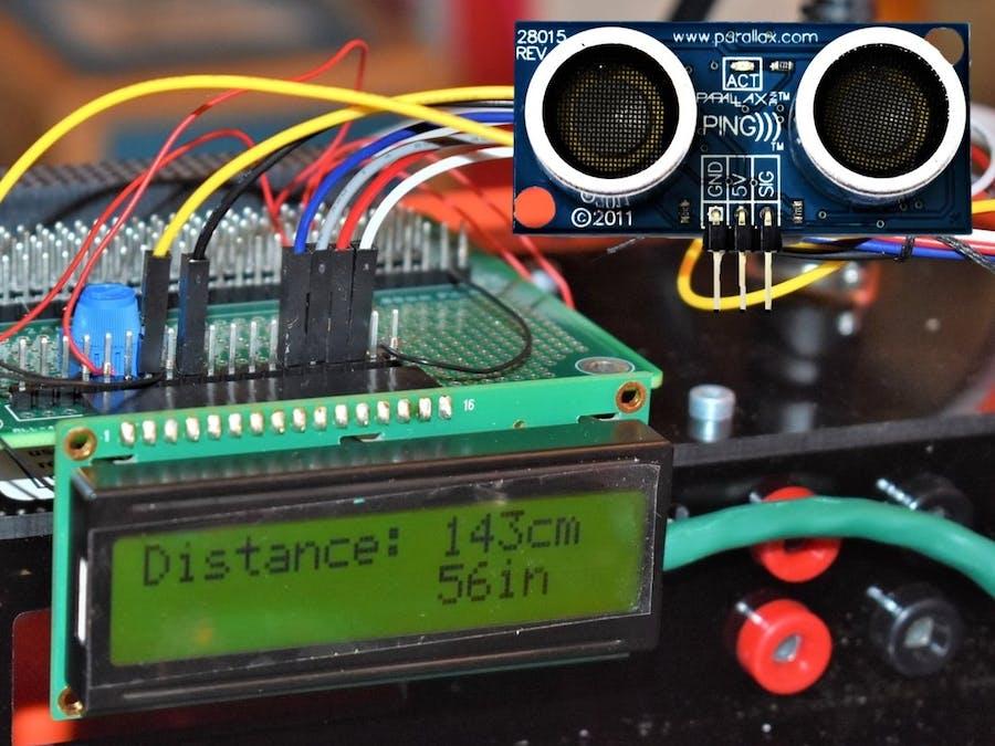 Interface An Ultrasonic Sensor Arduino Project Hub