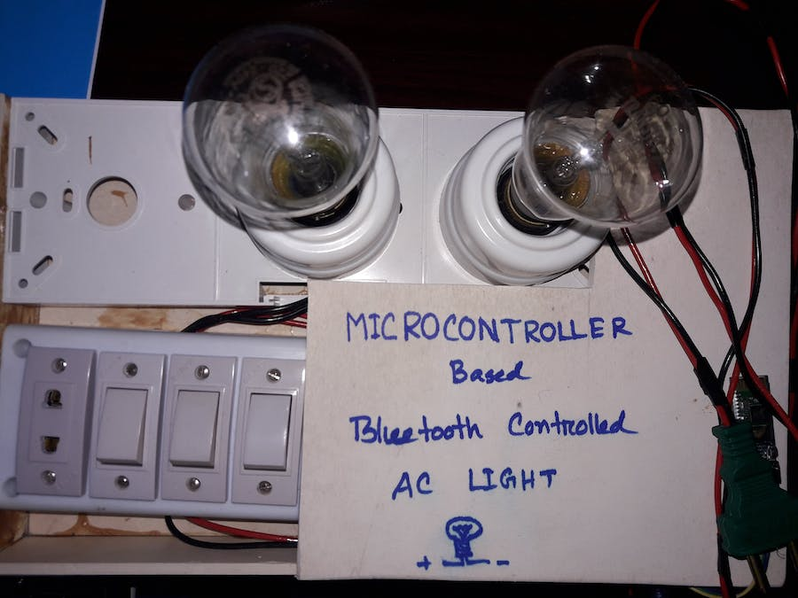 Bluetooth Controlled Home Light