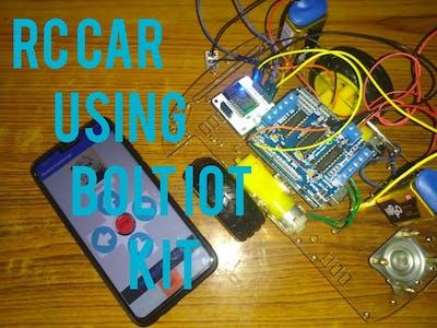 Remote Control Car Using Bolt IoT Kit