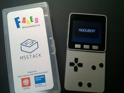 Arduboy Library on M5Stack FACES