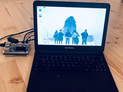 Raspberry Pi 4 Laptop