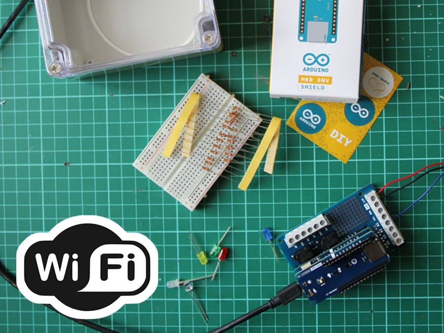 Expose Your IoT Bundle Kit Info Trough a WiFi Web Server