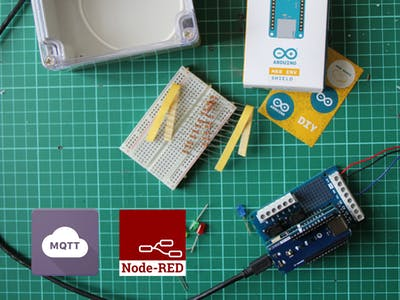 Control Your IoT Cloud Kit via MQTT and Node-RED