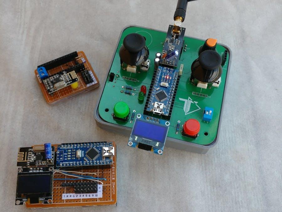 Arduino Radio Communication (nRF24L01)