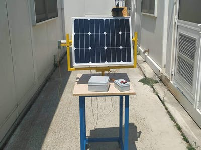 Solar Tracker 35W with DC Motors