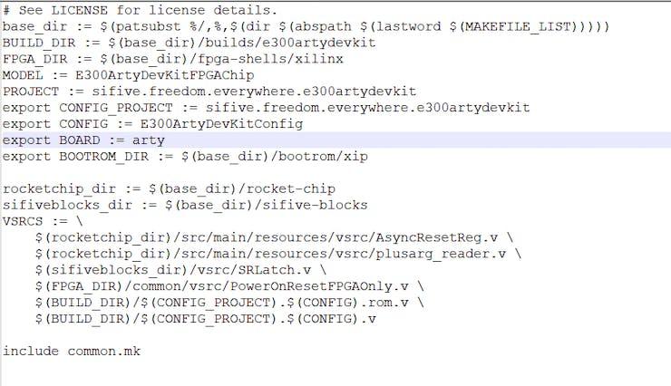 Default build script for the Arty 35T