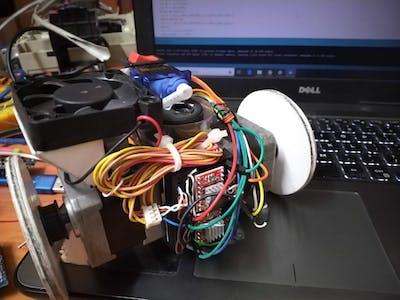 Rando: Arduino-Controlled Randomly Sketching Robot