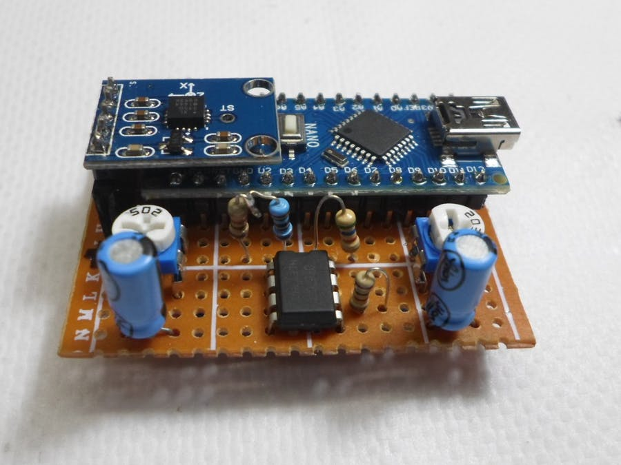 DIY Sensitive ADXL335 Earthquake Detector