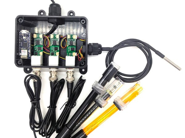 Nano 33 IoT + EC/pH/ORP + WebAPK - Arduino Project Hub