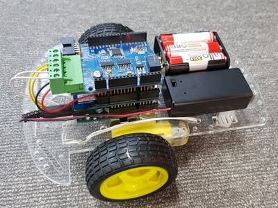 Control DIY DC Motor Car via Web