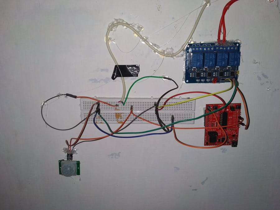 Motion Sensing Gallery Lights Using MSP 430 or Arduino UNO