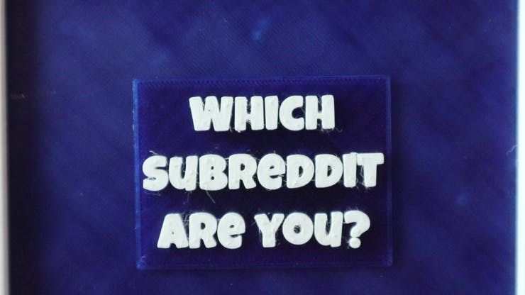 Which subreddit are you?