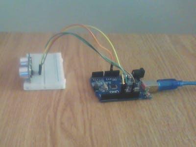 Ultrasonic Measuring Tape