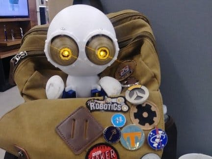 Prometheus, Big Eyed Companion Bot