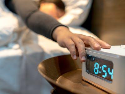Bolt Alarm Clock