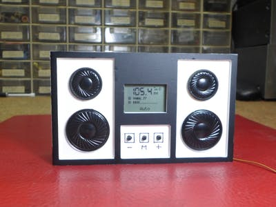 Mini Stereo Radio with RDA5807
