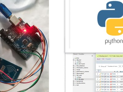 Attendance System Using Arduino and RFID with Python