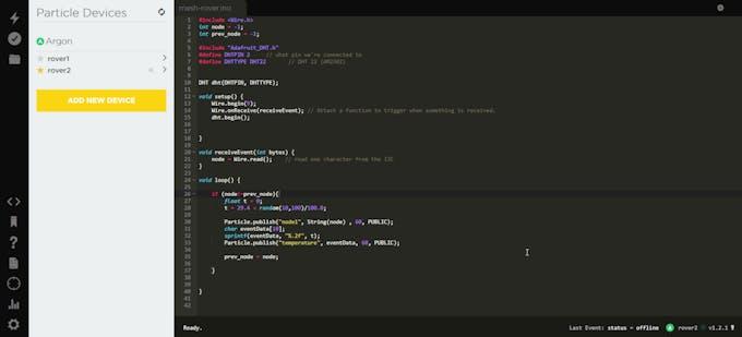 Particle Web IDE