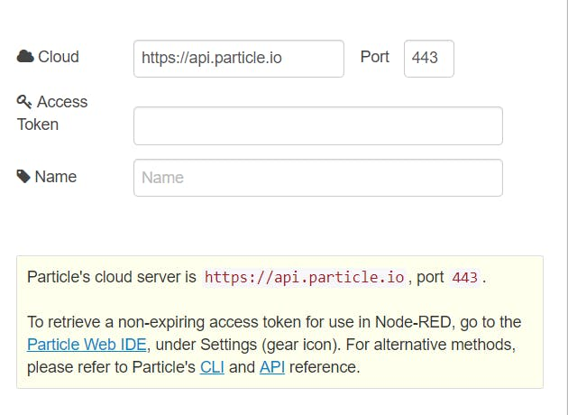Add new particle cloud