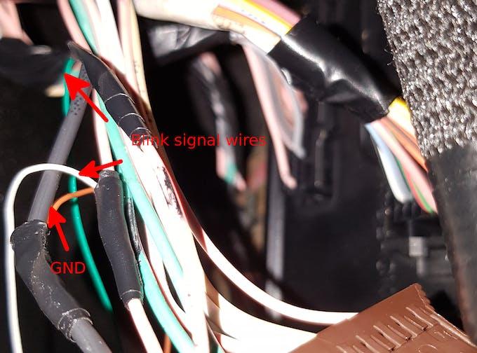 BCM blinkind derivation wires