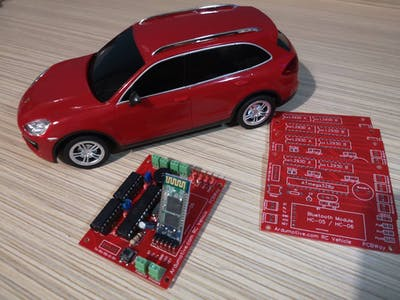 Arduino Bluetooth RC Car