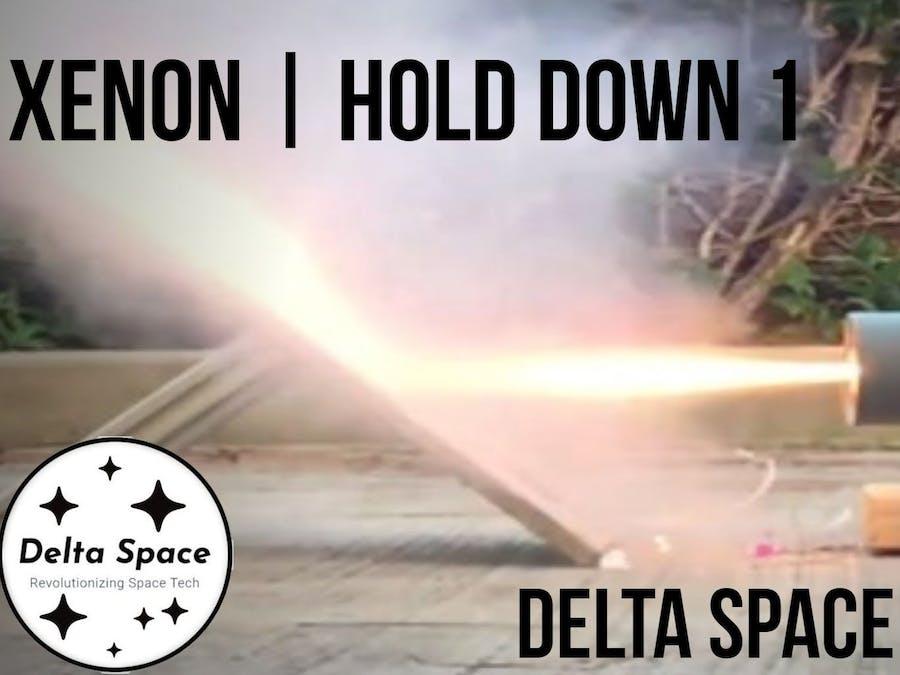 Xenon | Thrust Vector Controlled Rocket!!!