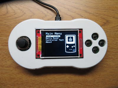 Berry Racer - An Arduino Game Played on a Custom PCB