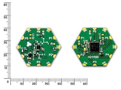 Caluclate Pitch and Roll Using Hexabitz Accelerometer