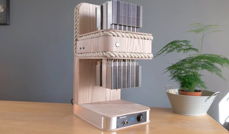 This Pc Case Made From Wood And Rope Is Functional Art