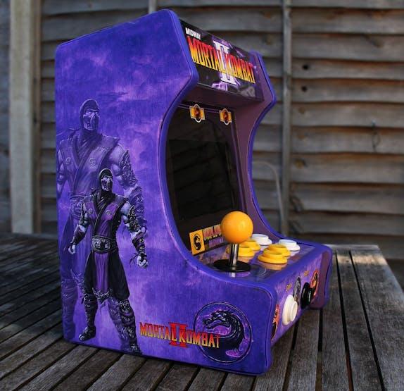 How To Build The Ultimate Mortal Kombat Ii Desktop Arcade Cabinet