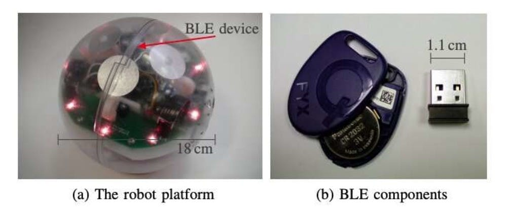 Researchers Use Bluetooth Low Energy Devices To Give Robots Proximity And Touch Awareness Hackster Io