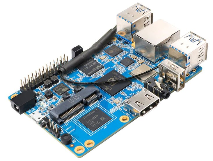 The Orange Pi 3 Is A 30 Single Board Computer With An Allwinner H6 Soc Hackster Io