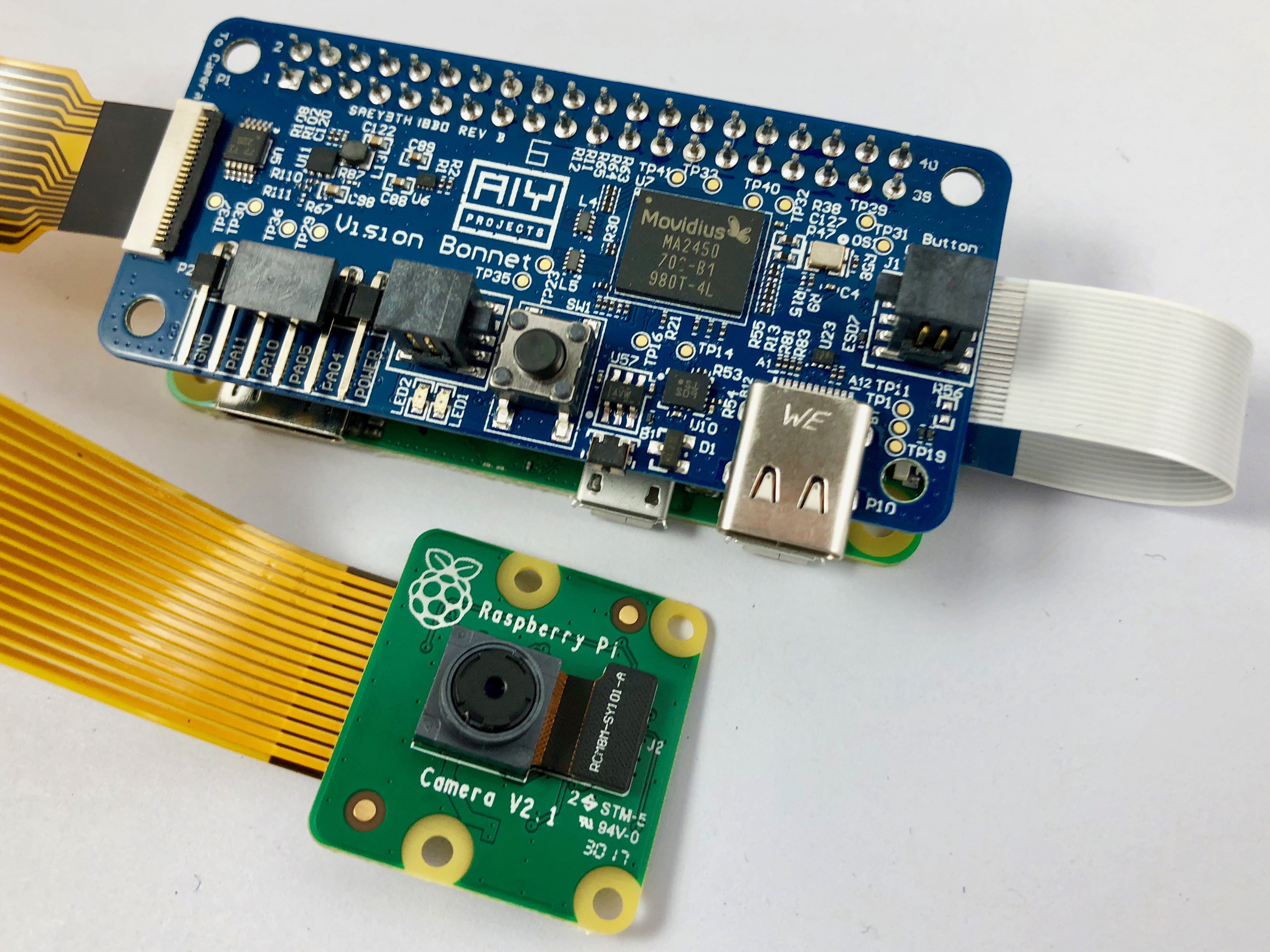 Google AIY Vision Kit Raspberry Pi Zero Case