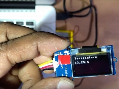 IoT - Ambient Temperature OLED Display