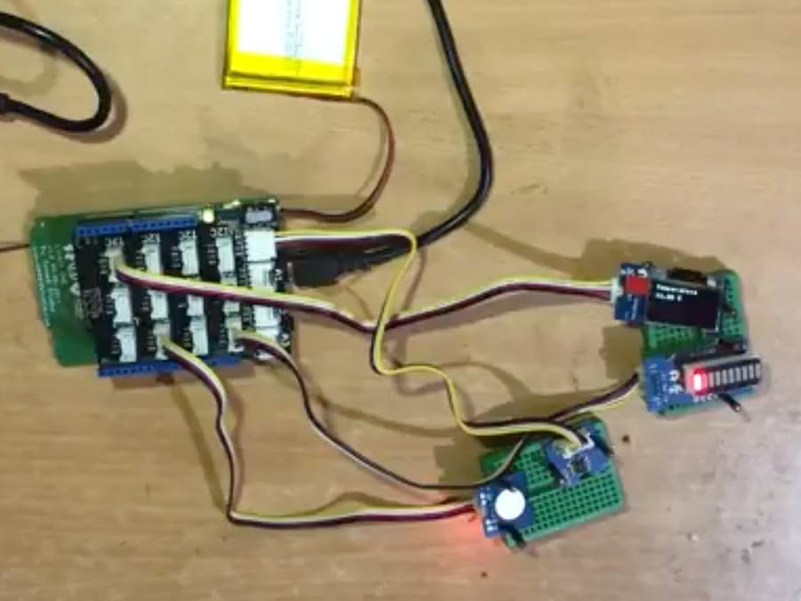 IoT - Send SMS with Ambient Temperature on Touch