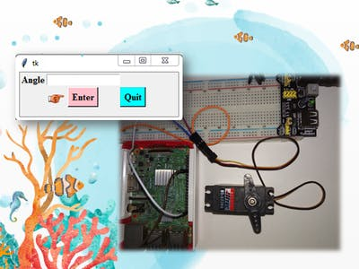 Controlling a Servo Motor with Raspberry Pi and Python GUI