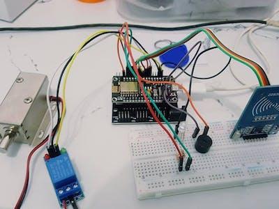 NodeMCU RFID Door Lock