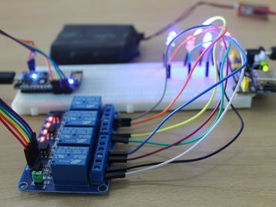 Relay Control Using NodeMCU Through Blynk App