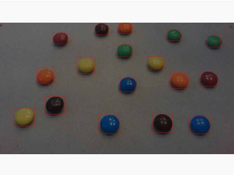 M&M Counter Powered by Azure Cognitive Services & Azure IoT