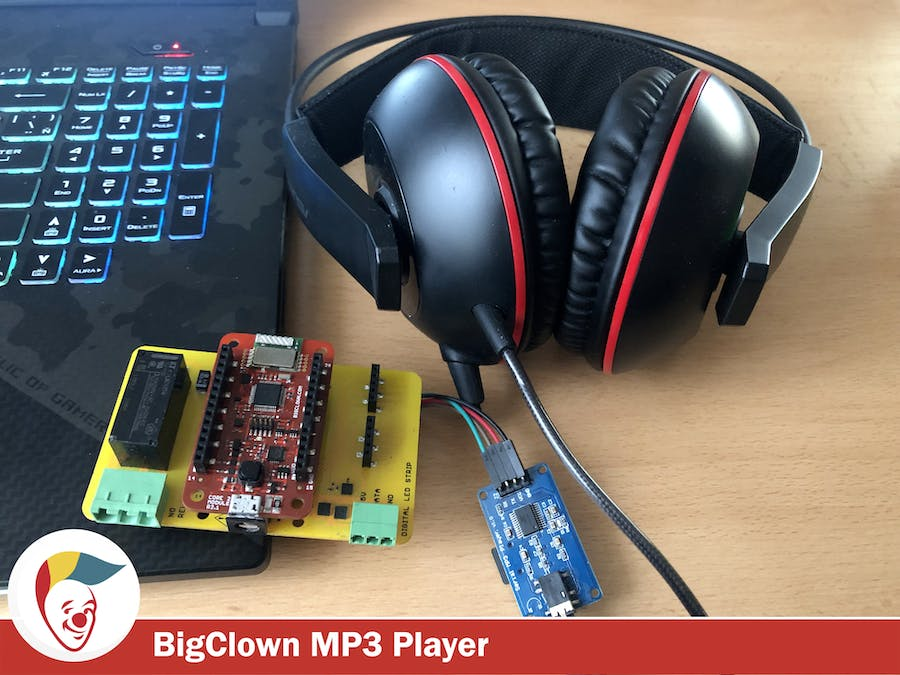 Smart Wireless BigClown MP3 Player